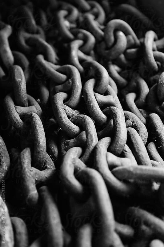 Anchor Chain on Boat by Raymond Forbes LLC for Stocksy United