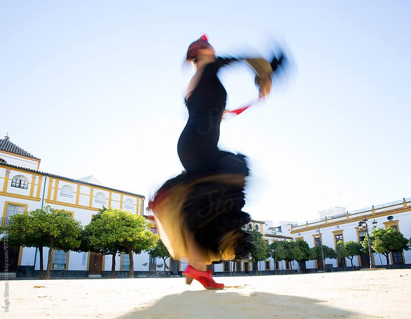 Flamenco Dancer. Spain by Hugh Sitton for Stocksy United