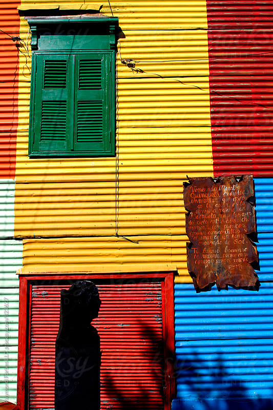 La Boca District of Buenos Aires, Argentina by Raymond Forbes LLC for Stocksy United