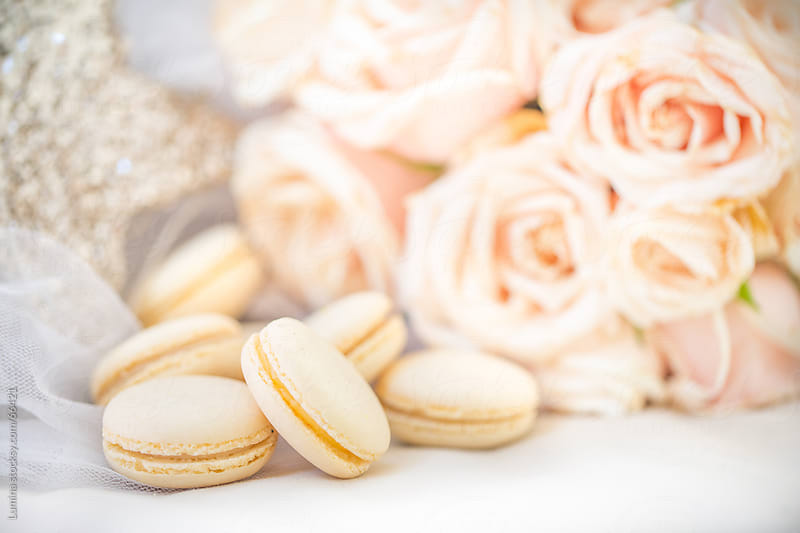 Macarons and Roses by Lumina for Stocksy United