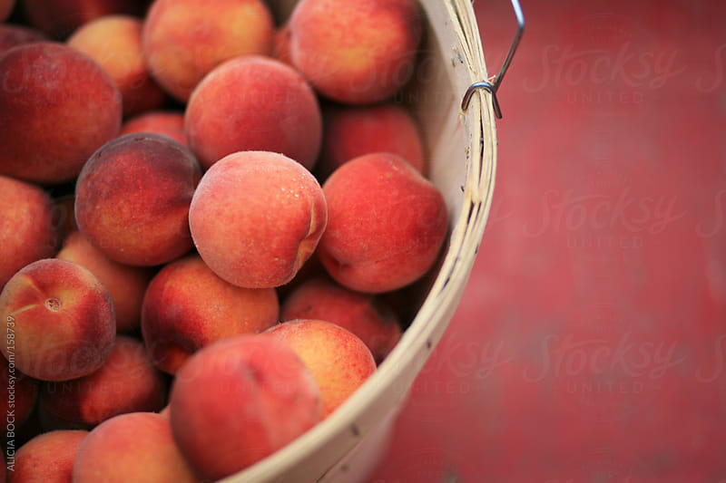 A Basket Of Peaches by ALICIA BOCK for Stocksy United