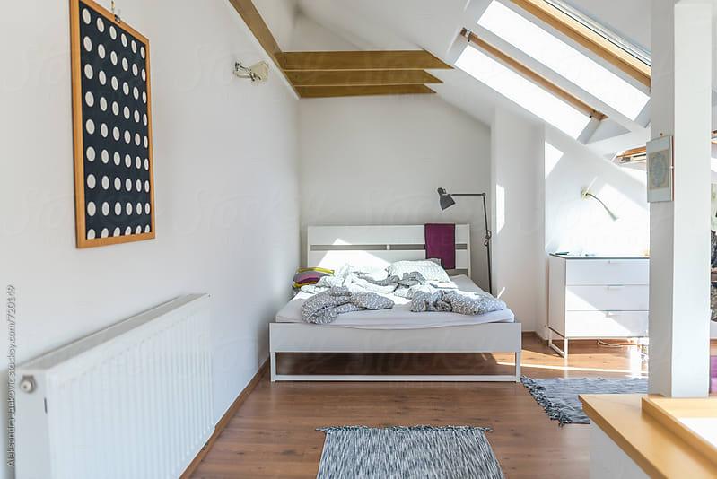 Morning Light in the Bedroom by Aleksandra Jankovic for Stocksy United