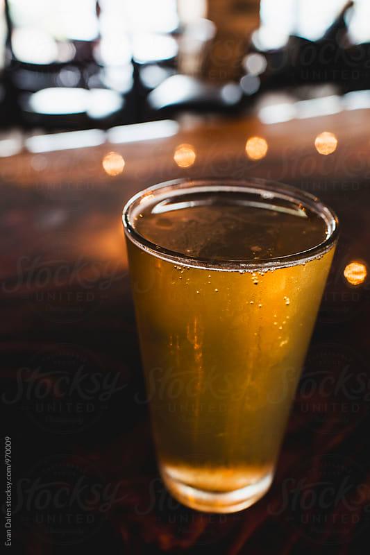 Pint of Beer by Evan Dalen for Stocksy United
