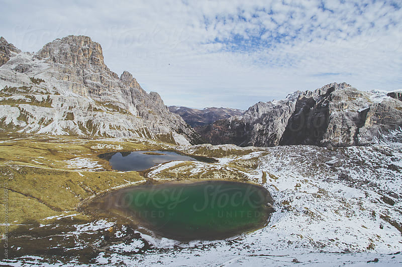Hiking in the Italian Dolomites by Luke Gram for Stocksy United