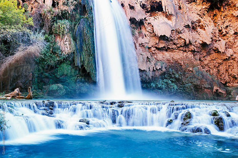 USA, Arizona, Grand Canyon National Park, Havasu Falls by Gavin Hellier for Stocksy United