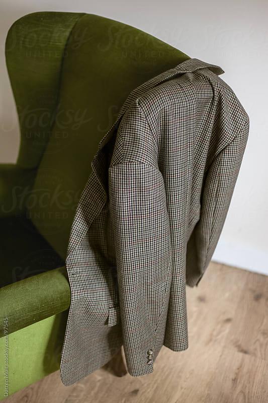 Vintage tweed jacket.  by Darren Muir for Stocksy United