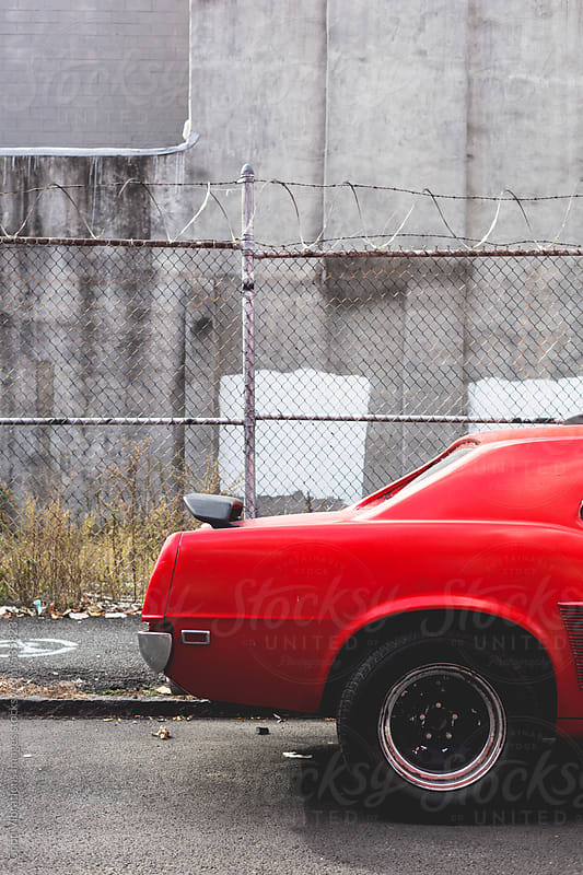 Red Sports Car by Good Vibrations Images for Stocksy United
