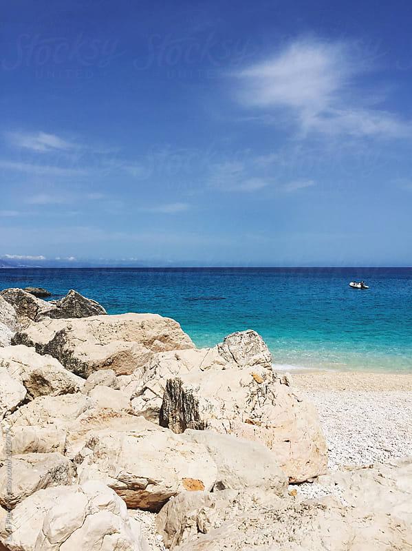 Cala Goloritzé beach, Sardinia by Luca Pierro for Stocksy United