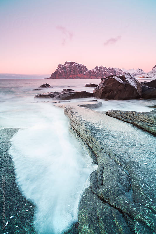 Uttakleiv beach, Lofoten Islands by Marilar Irastorza for Stocksy United