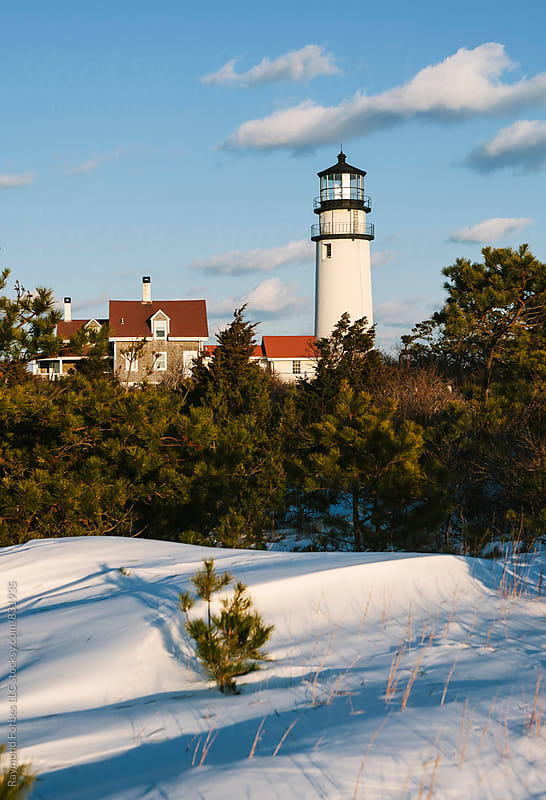 Cape Cod Light (Highland Lighthouse) Truro, Massachusetts by Raymond Forbes LLC for Stocksy United