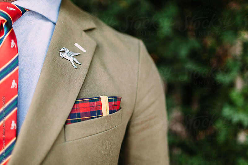 Close up of business attire details by Kristen Curette Hines for Stocksy United