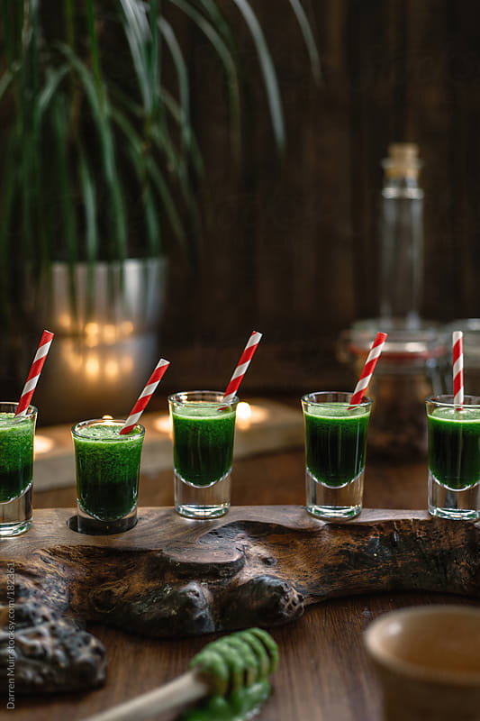 Detox Smoothies.  by Darren Muir for Stocksy United
