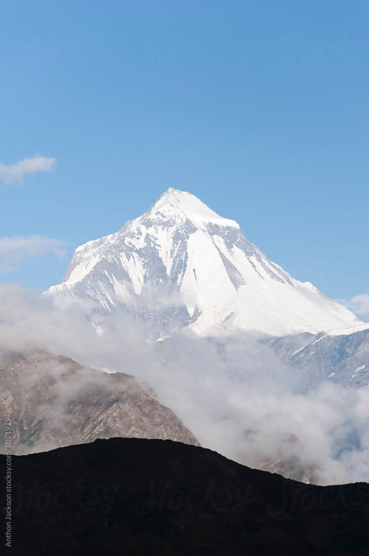 Dhaulagiri Peak by Anthon Jackson for Stocksy United
