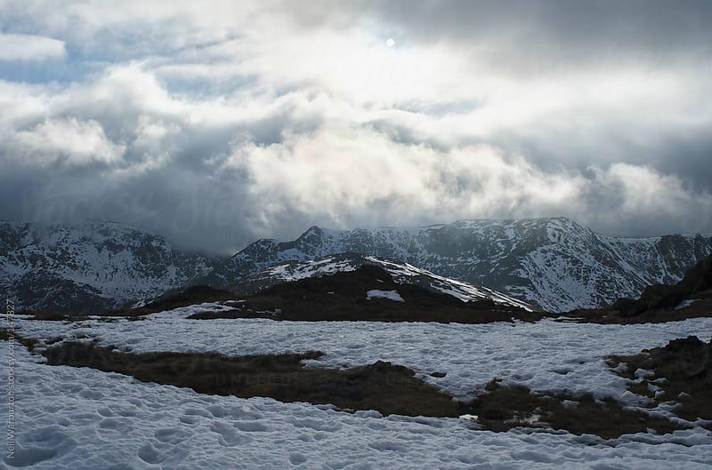 Winter Mountain Landscape by Neil Warburton for Stocksy United