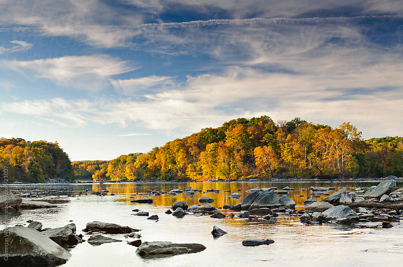 Potomac River from Scott's Run, Virginia by Cameron Whitman for Stocksy United