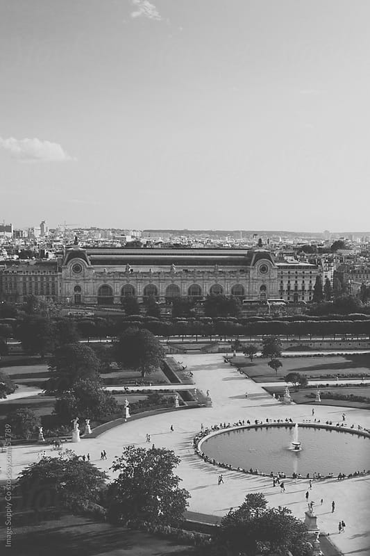 Jardin des Tuileries by Image Supply Co for Stocksy United