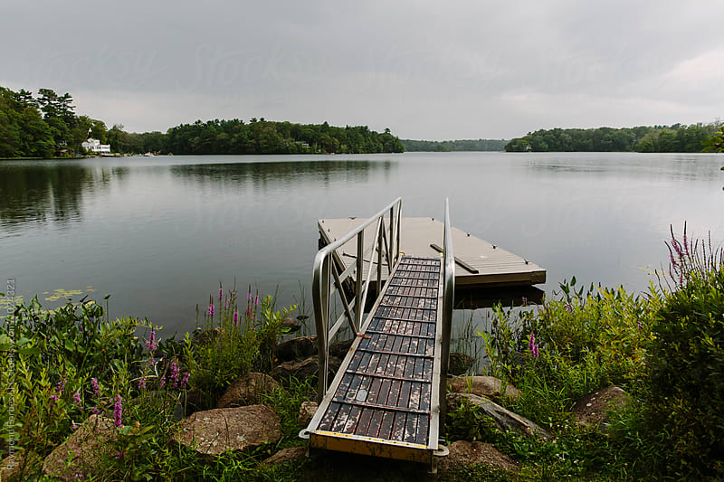 Dock at the Lake by Raymond Forbes LLC for Stocksy United