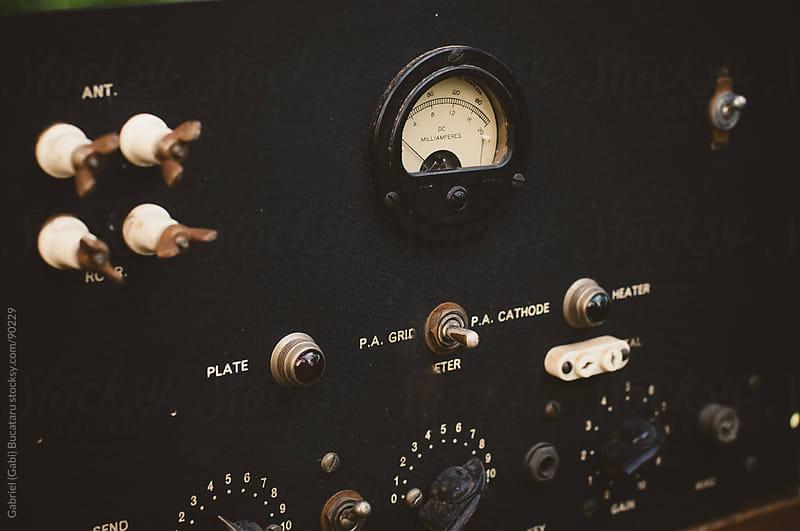 Old Control Panel Interface by Gabriel (Gabi) Bucataru for Stocksy United