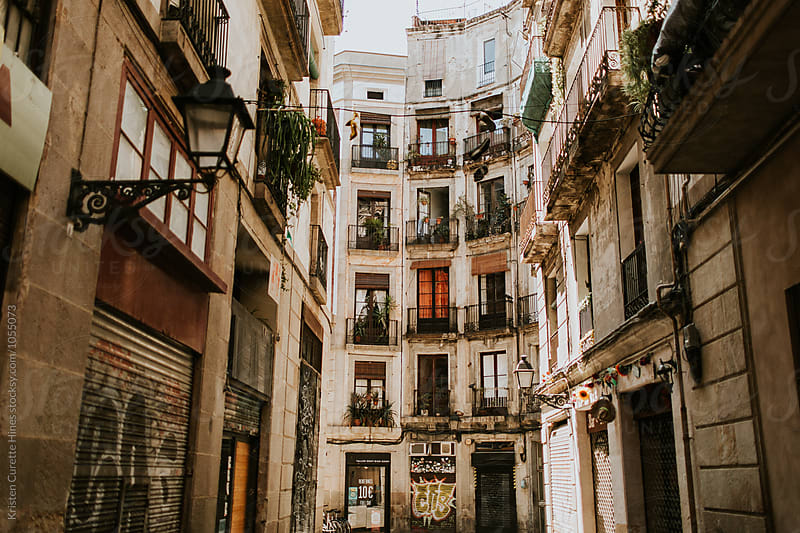 Gothic quarter in Barcelona by Kristen Curette Hines for Stocksy United