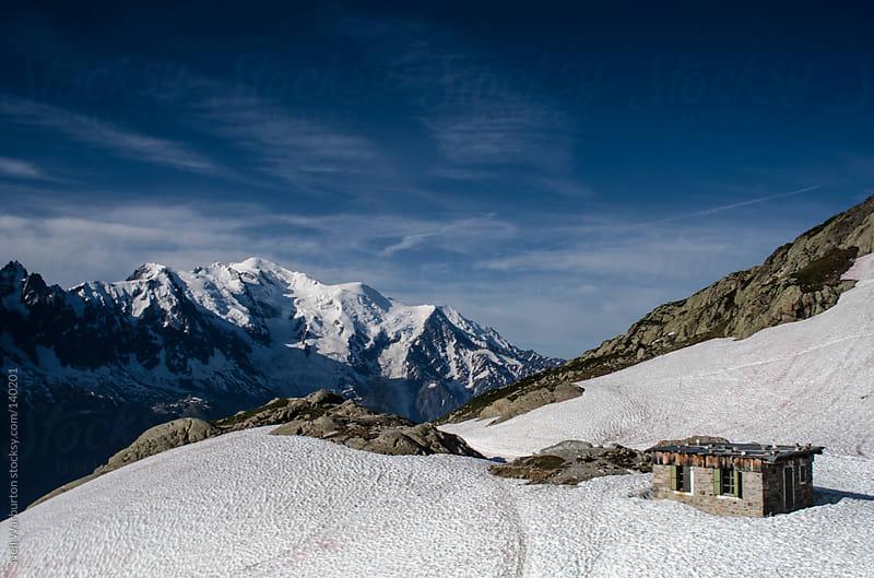 Alpine Shelter by Neil Warburton for Stocksy United