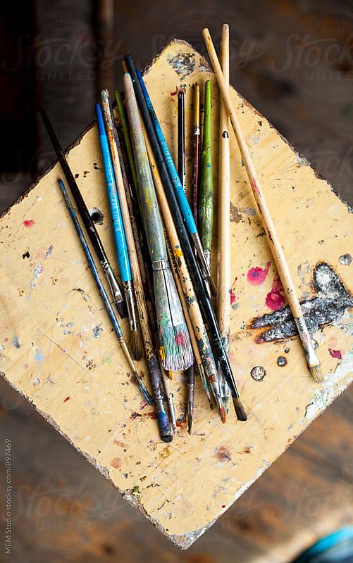 brushes by MEM Studio for Stocksy United