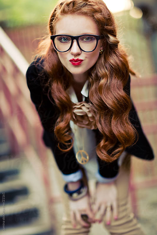 Fashionable Hipster Woman by Lumina for Stocksy United