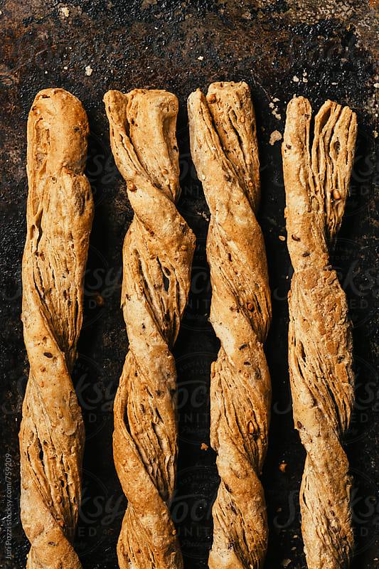 cereals bread sticks by Juri Pozzi for Stocksy United
