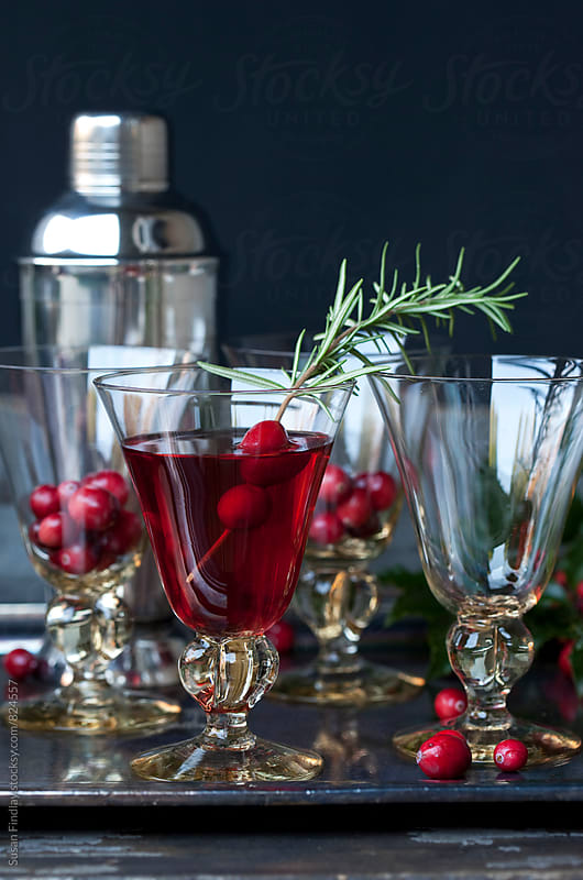 christmas cocktails by Susan Findlay for Stocksy United