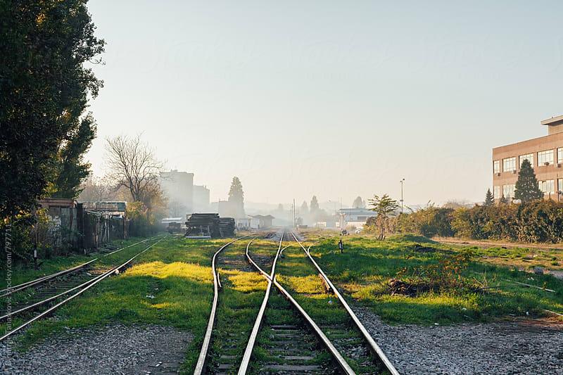 Look on the railway by Dimitrije Tanaskovic for Stocksy United
