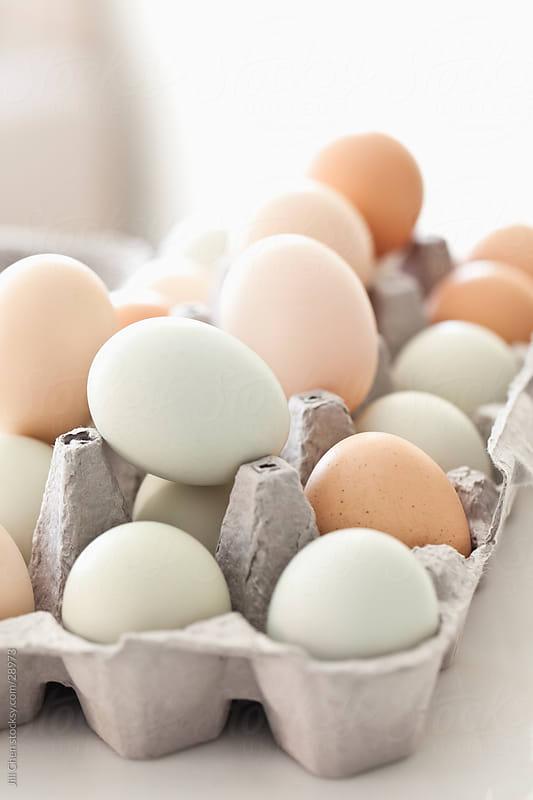 Farm Fresh Eggs by Jill Chen for Stocksy United