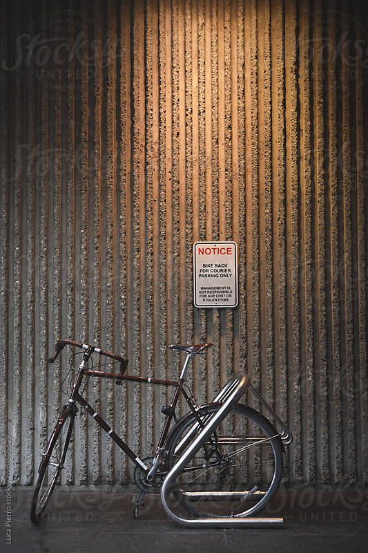 Bike rack  by Luca Pierro for Stocksy United