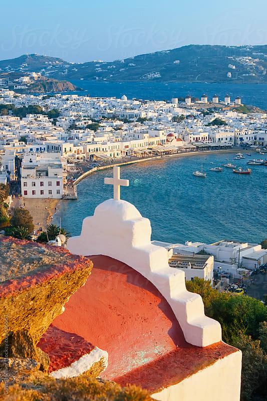 Mykonos (Hora), Cyclades Islands, Greece by Gavin Hellier for Stocksy United