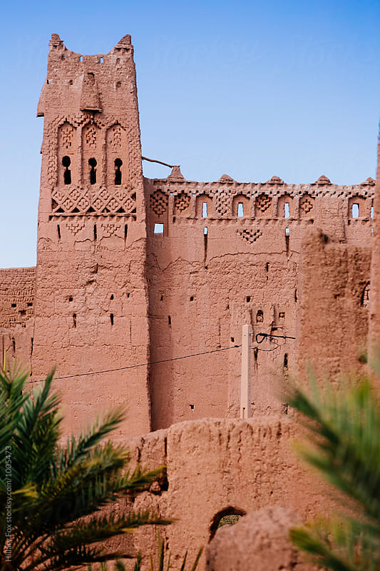 Moroccan Kasbah by Hillary Fox for Stocksy United