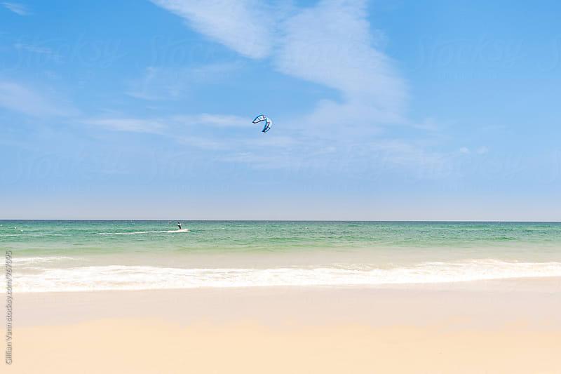 kite boarding, Noosa by Gillian Vann for Stocksy United
