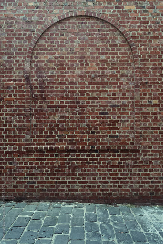 Bricked up window by Rowena Naylor for Stocksy United