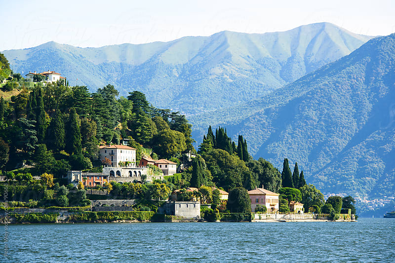 Lake Como by Peter Wey for Stocksy United