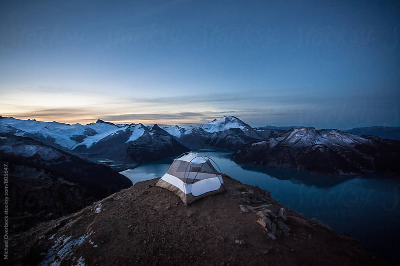 Camp Spot, with a View by Michael Overbeck for Stocksy United