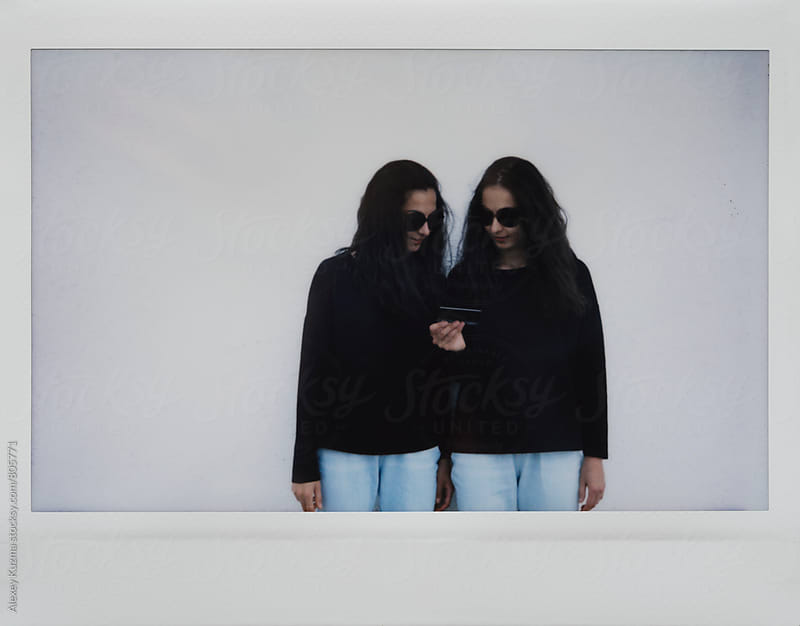beautiful twins  by Vesna for Stocksy United