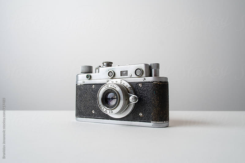 Analog Camera  by Branislav Jovanović for Stocksy United