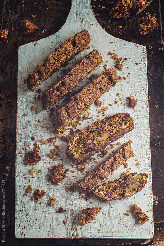 Breakfast biscotti     by Federica Di Marcello for Stocksy United