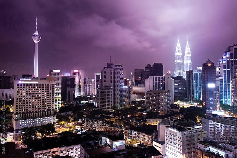 Kuala Lumpur Skyline by Goldmund Lukic for Stocksy United
