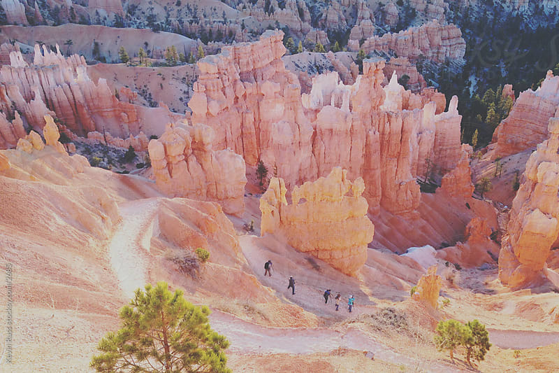 Bryce Canyon Sunrise Shooters by Kevin Russ for Stocksy United
