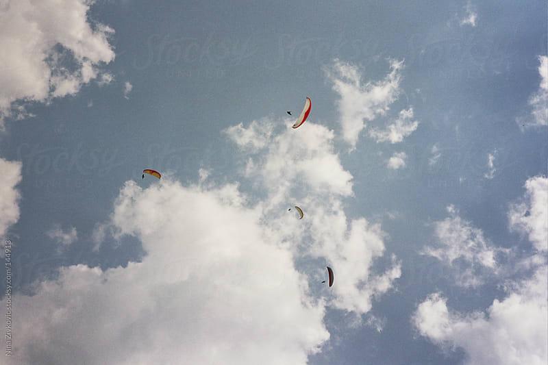 Paragliding. by Nina Zivkovic for Stocksy United