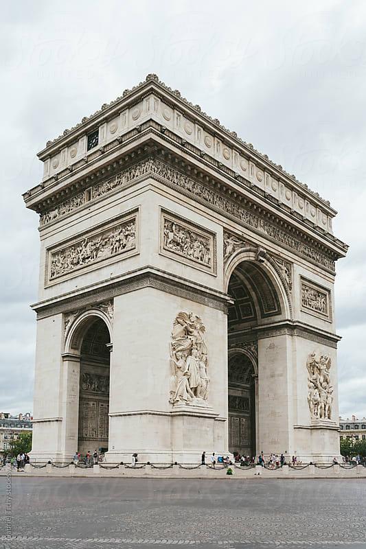 Arc de Triomphe, Paris by Gabriel Tichy for Stocksy United