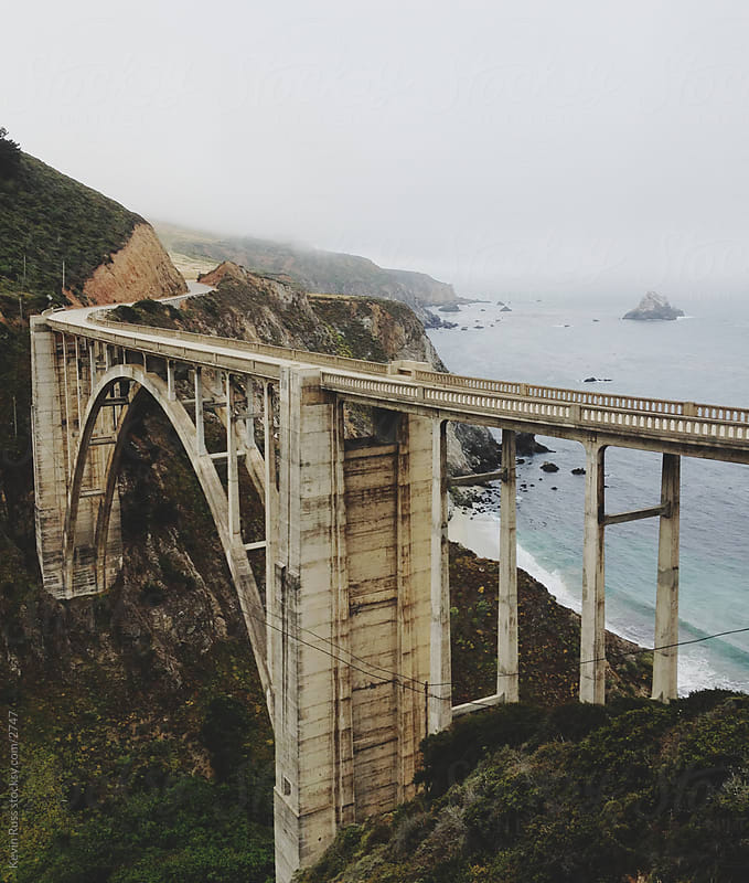 Bixby Bridge by Kevin Russ for Stocksy United