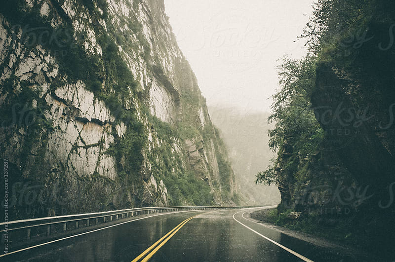 Misty Road by Matt Lief Anderson for Stocksy United