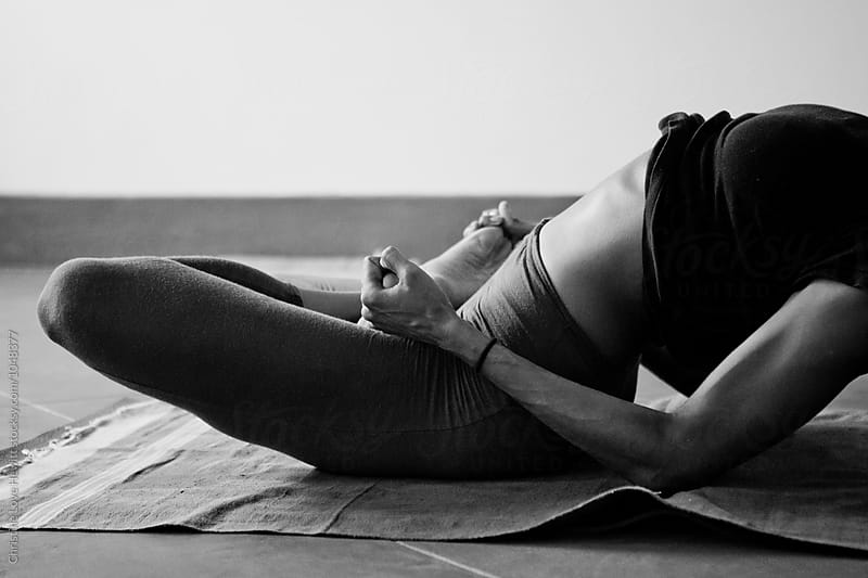 Yoga class by Christine Hewitt for Stocksy United