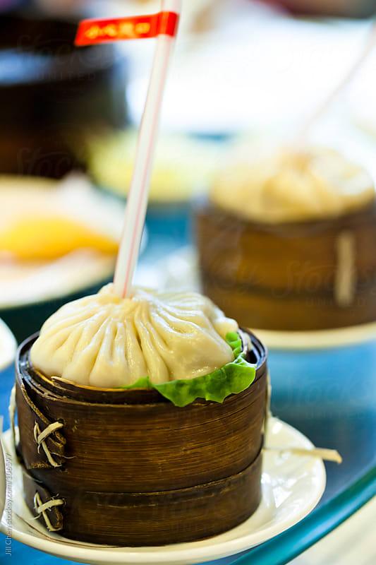 Soup Dumplings by Jill Chen for Stocksy United