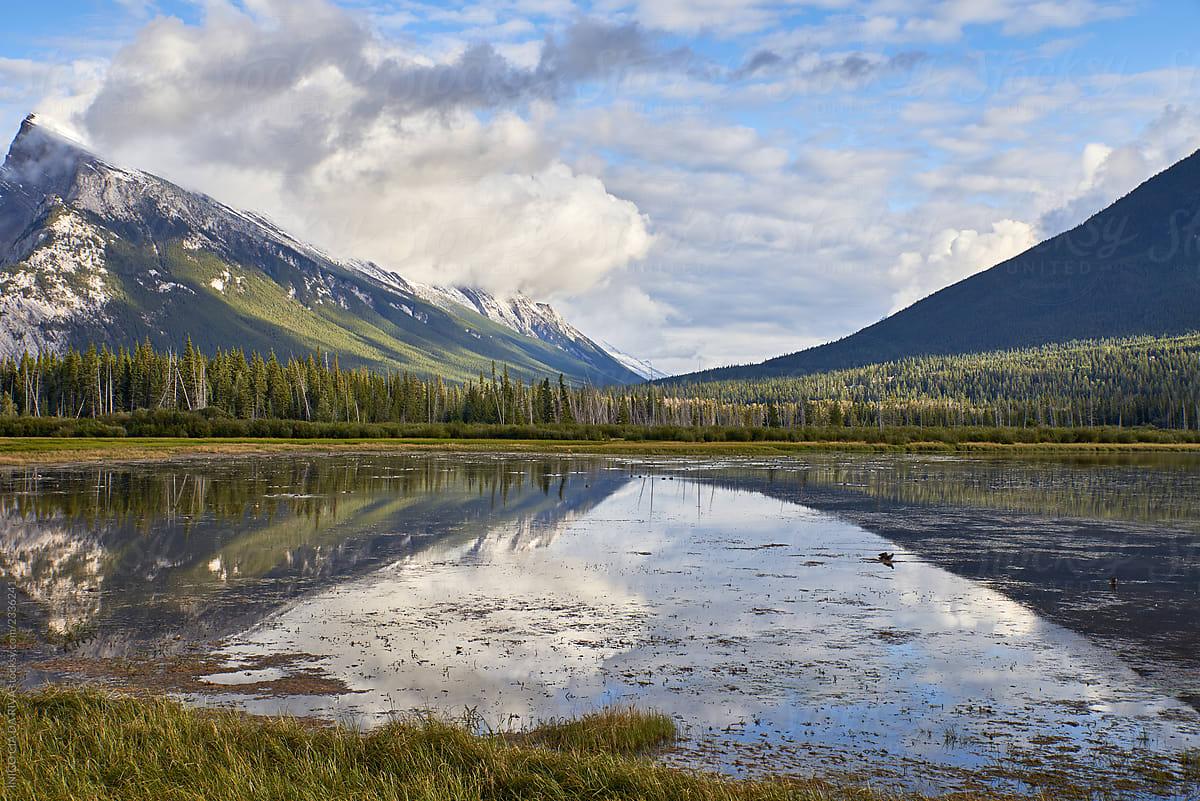 Stock Photo - Vermilion Lake, Banff, Rocky Mountain, Canada