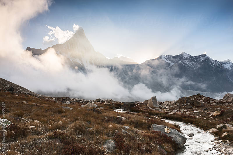 beautiful mountain scenery  by RG&B Images for Stocksy United